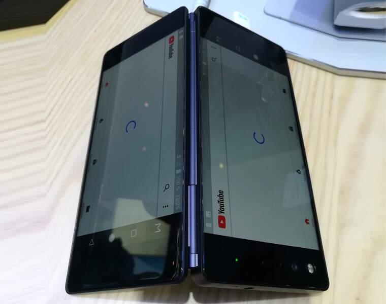 ZTE Axon M, le smartphone au faux écran pliable