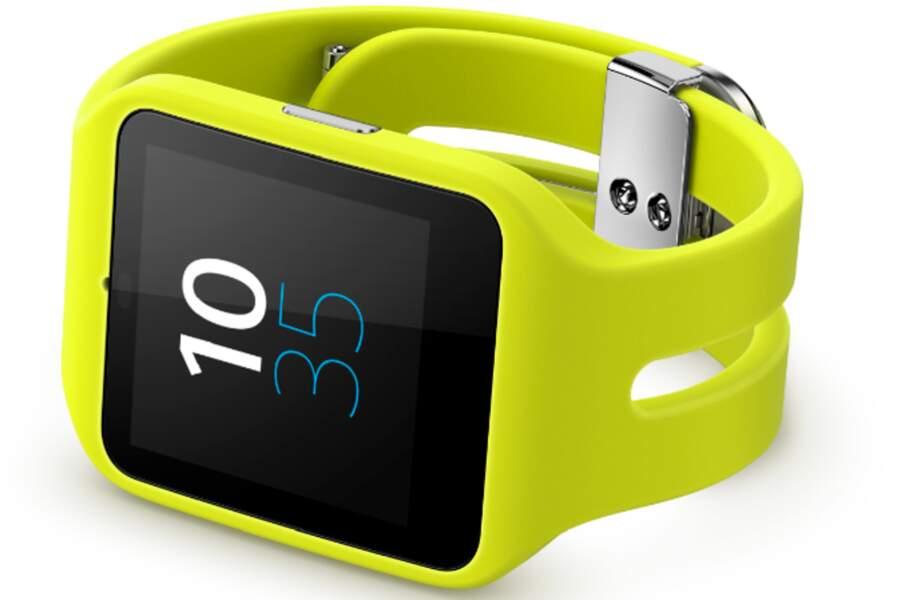 Sony Smartwatch 3 : la plus rechargeable