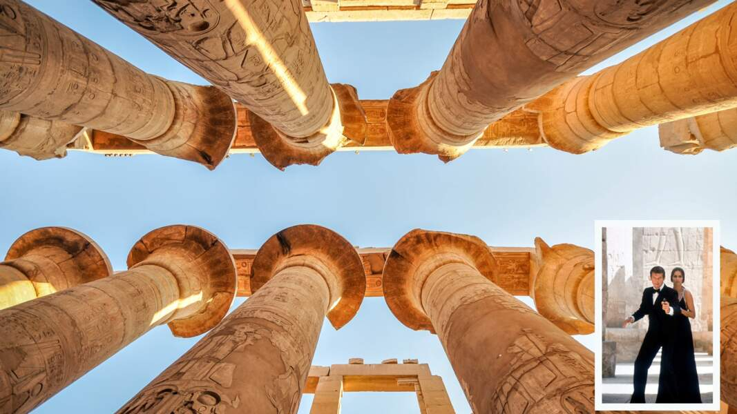 Le temple de Karnak (Egypte)