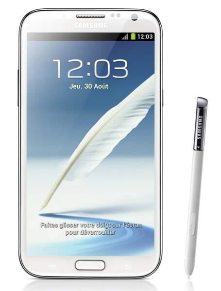 Le meilleur smartphone moyen de gamme : Samsung Galaxy Note 2