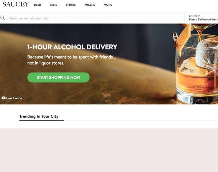 SAUCEY: Livraison d'alcools