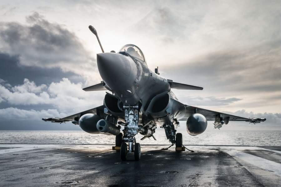 Le Rafale version Marine de Dassault Aviation