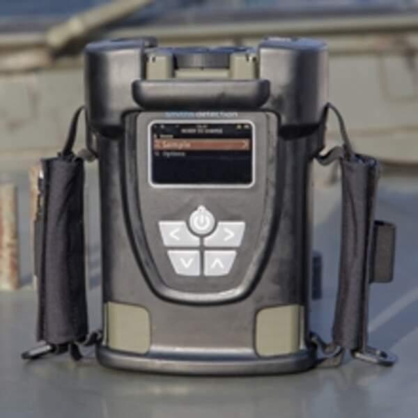 Le détecteur d'explosifs portable