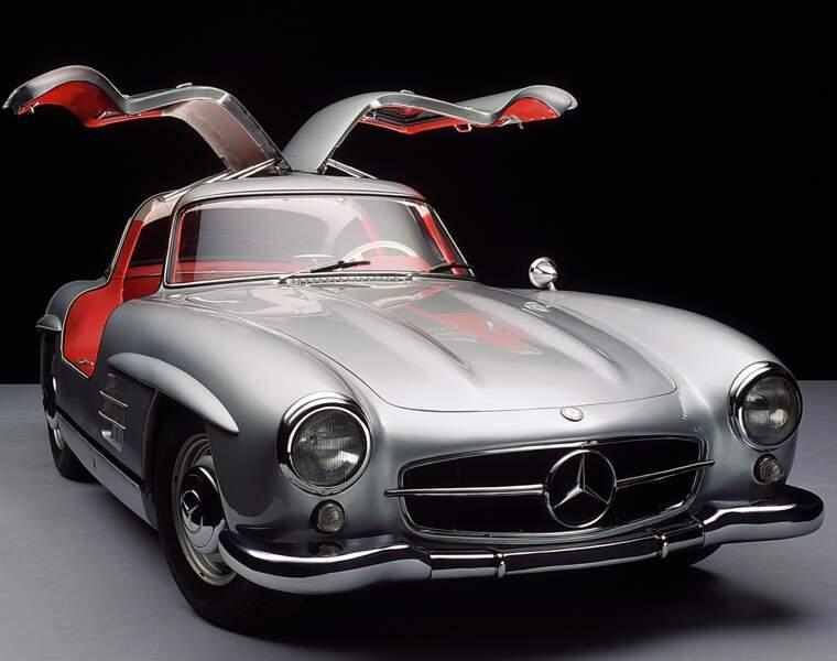 La Mercedes 300 SL