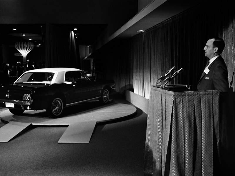 1964 : Présentation de la première Ford Mustang