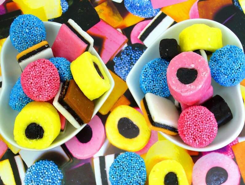 Bonbons, Sucre