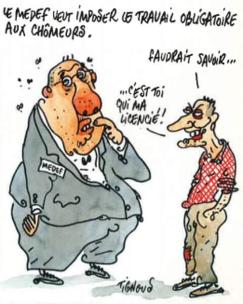 Le Medef et la CFDT veulent réformer l'assurance chômage (juin 2000)