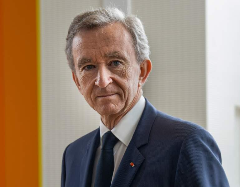 Le CV de Bernard Arnault, P-DG de LVMH