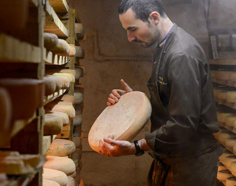 Marc Janin, fromager à Champagnole