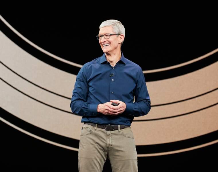 Le discret Tim Cook a su s'imposer et a accéléré la croissance de la marque à la pomme