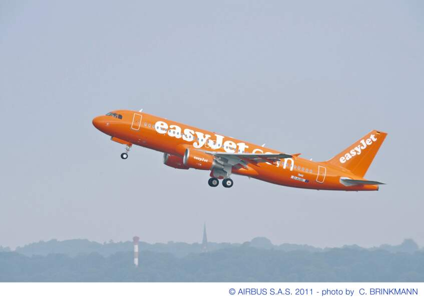 Easyjet reste fidèle à l'A320