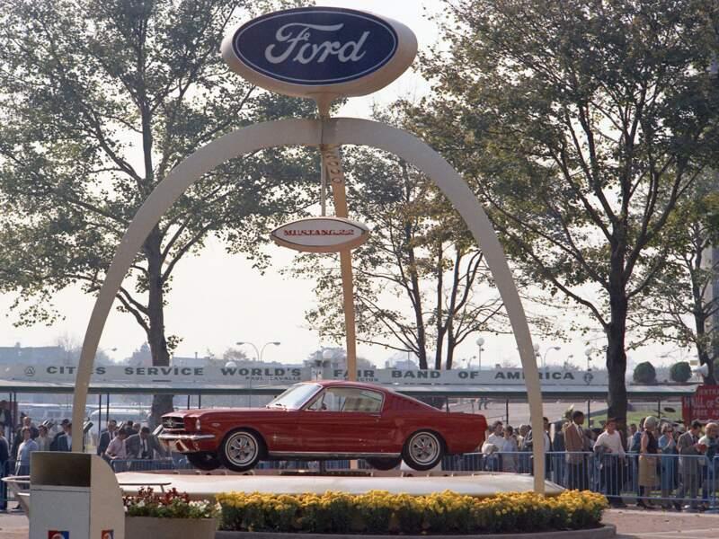 1964 : Présentation mondiale de la Ford Mustang