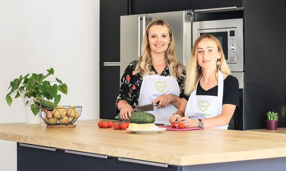 Lise Rissel et Hélène Primard : des box gourmandes et végétariennes