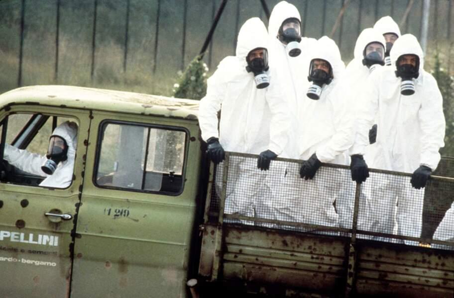 10 JUILLET 1976 : Explosion d'un réacteur chimique à Seveso en Italie
