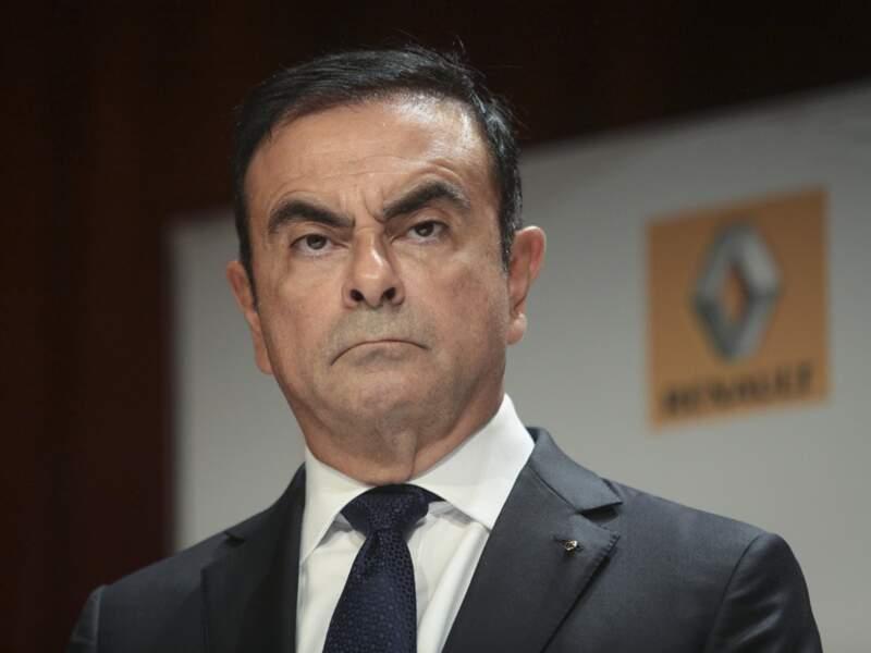 Le CV de Carlos Ghosn, P-DG de Renault