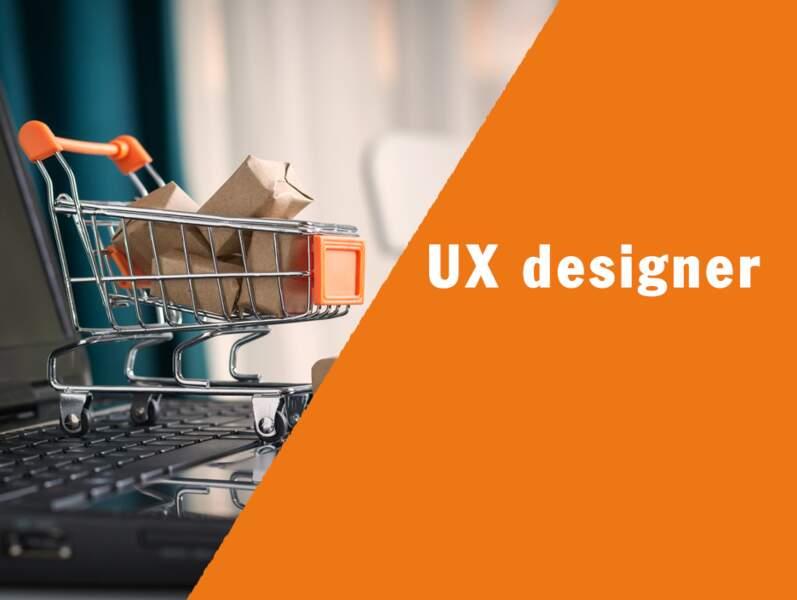 UX designer - Il garantit une expérience client impeccable
