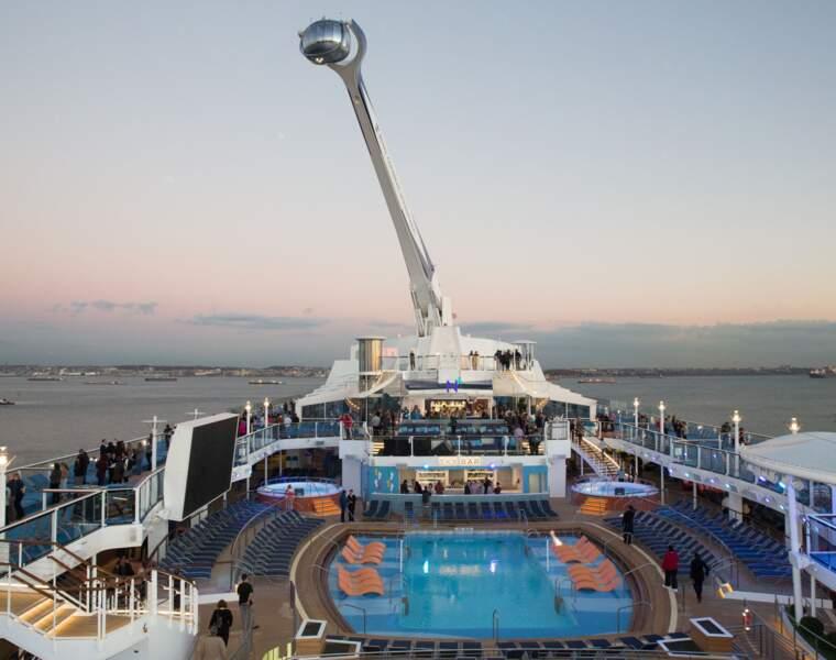 Quantum of the Seas : 347 mètres
