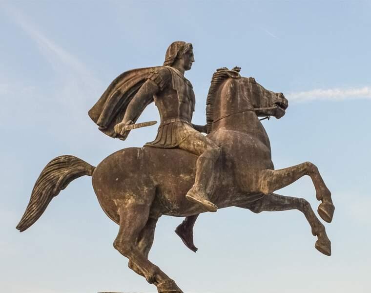 Alexandre le Grand (356 à 323 av. J.-C.), empereur et conquérant