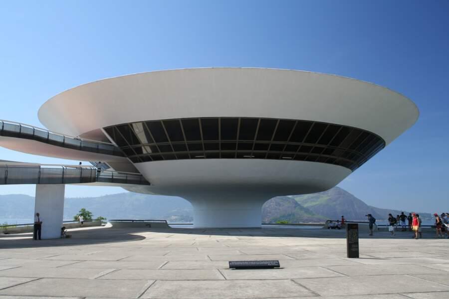 Le musée d'art contemporain de Niterói