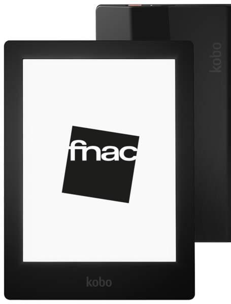 La meilleure liseuse haut de gamme : Fnac Kobo Aura HD