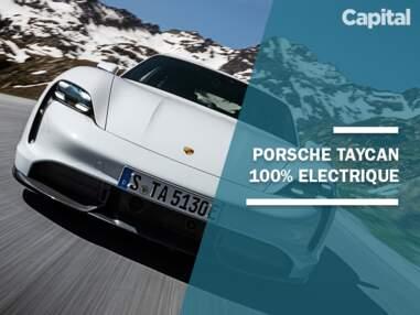 Porsche Taycan : la sportive 100% électrique en images