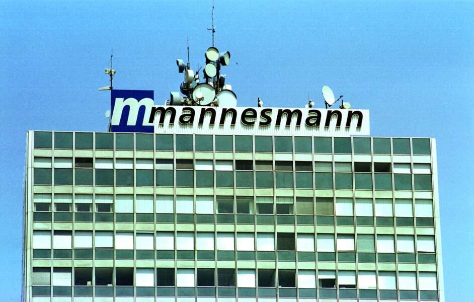 1. Vodafone AirTouch - Mannesmann AG : 202,8 milliards de dollars