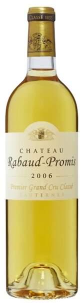 Sauternes 2006, 1er grand cru, Château Rabaud-Promis