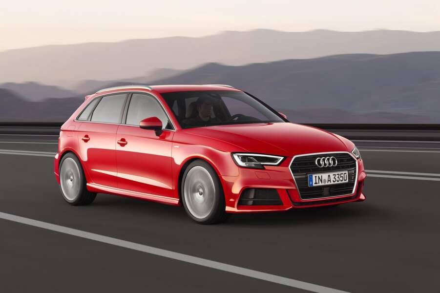 7 - Audi A3 (6.196 ventes)