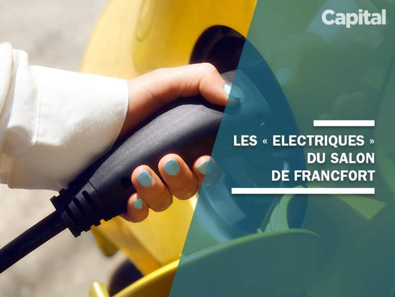 Les nouvelles voitures électriques du salon de Francfort 2019