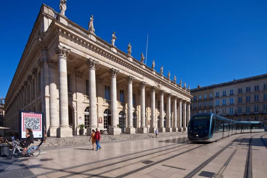 Le Grand-Théâtre de Bordeaux - Une utilisation innovante de la pierre armée