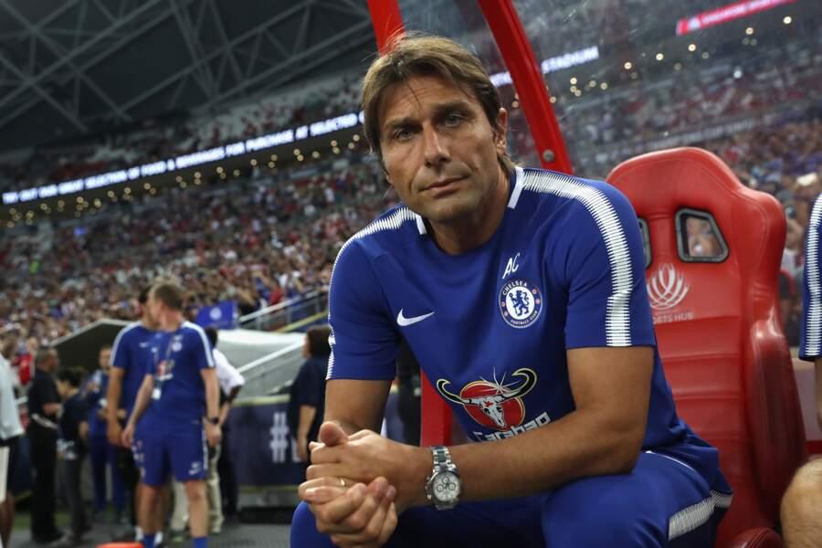 10. Antonio Conte (italien) : 13 millions d'euros