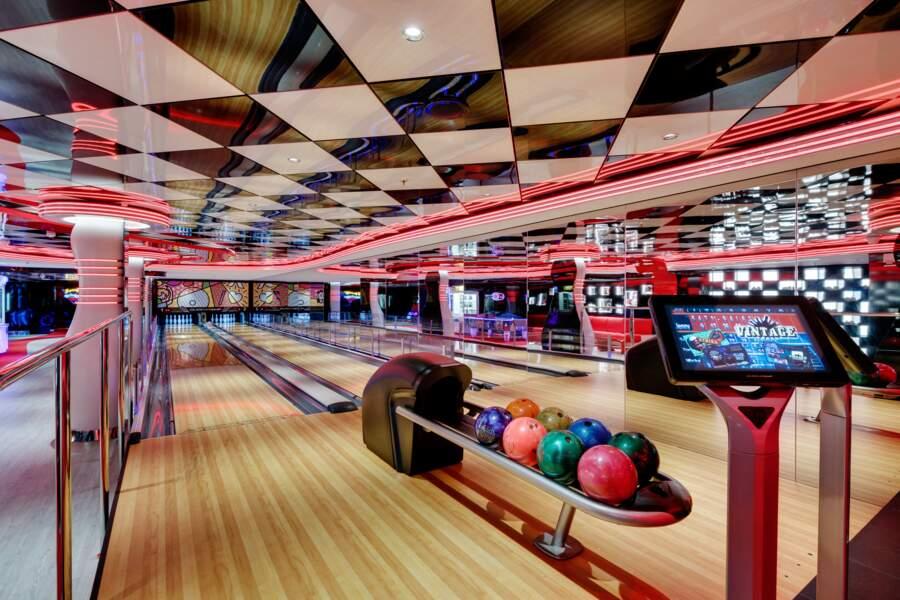 Un (vrai) bowling en pleine mer