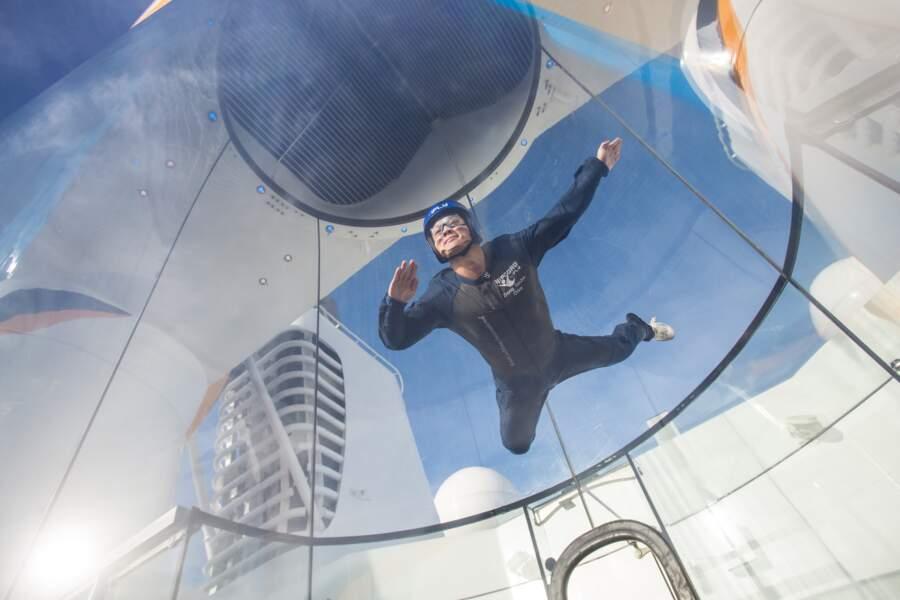 Le simulateur de chute libre