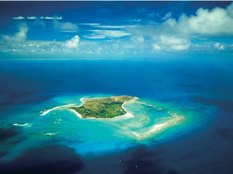 NECKER ISLAND,  la préférée des people