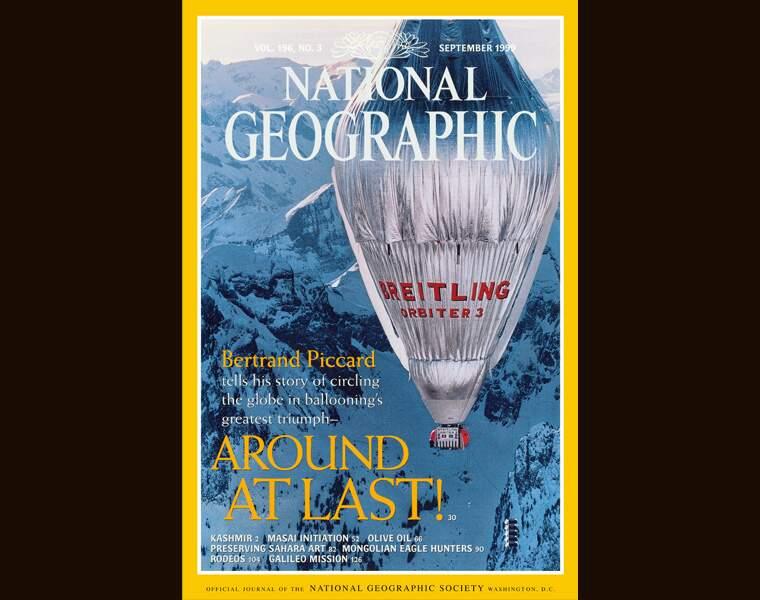Le tour du monde en ballon de Bertrand Piccard