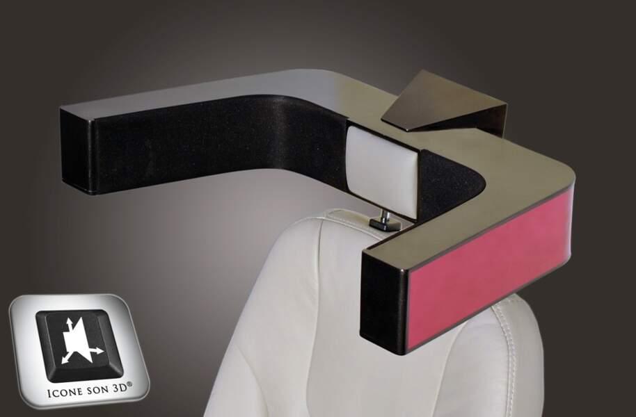 3Dias, les hauts-parleurs intégrés au fauteuil