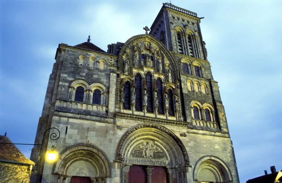 La basilique et colline de Vézelay