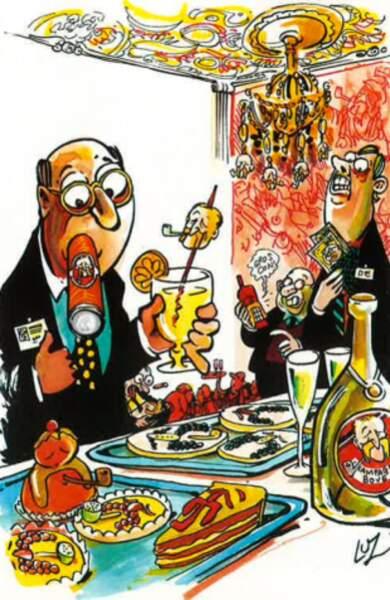 José Bové perturbe la grand-messe de Davos (janvier 2000)