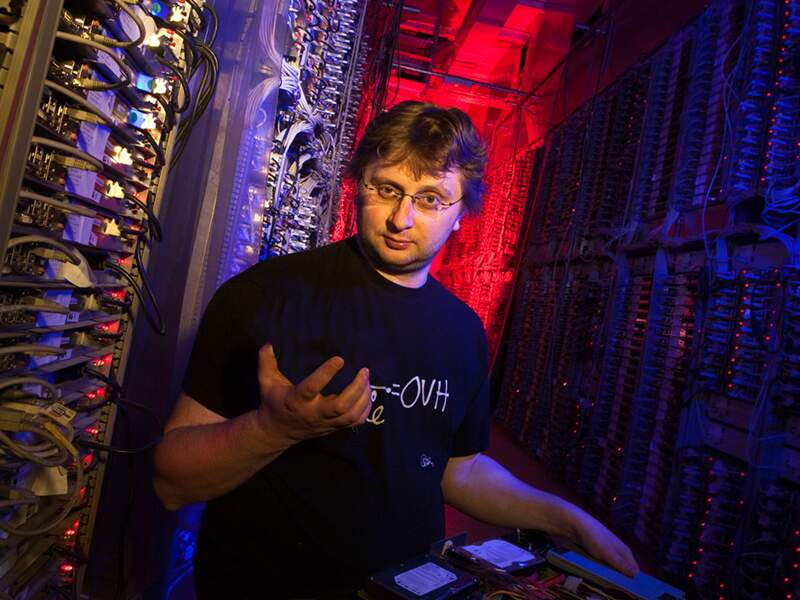 Octave Klaba, OVH : ses 15 data centers hébergent 20millions de sites web
