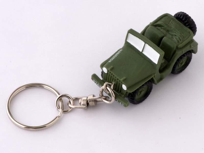 Porte-clés jeep