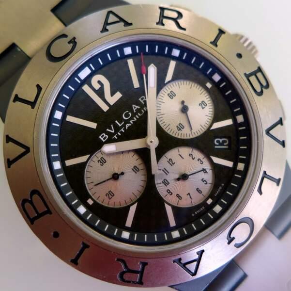 Bulgari, modèle Diagono Titanium Chronograph