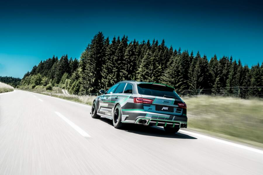 Audi RS6-E - 5
