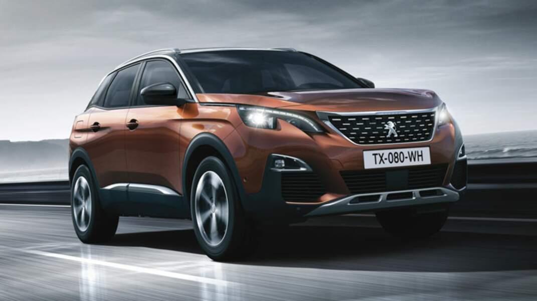 N°3 : Peugeot 3008