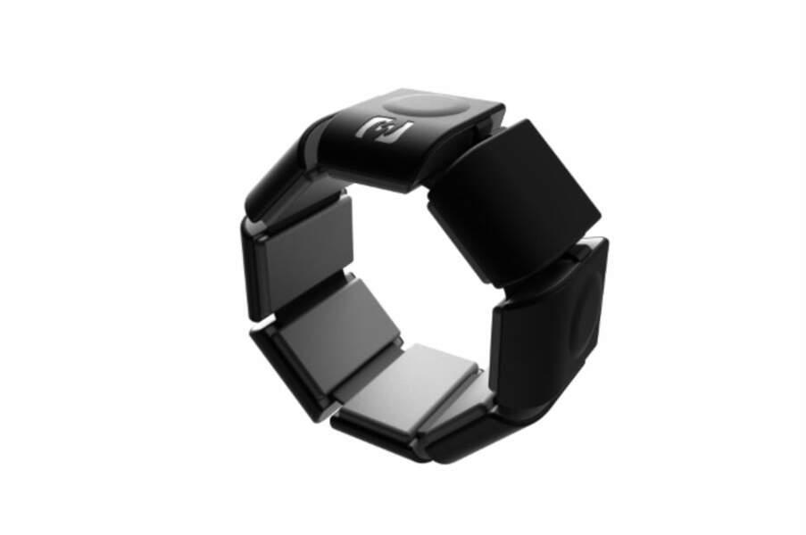 Le bracelet connecté qui permet une communication silencieuse