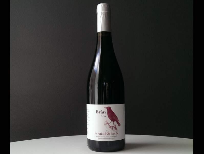 Vin de France, Brân 2015, Domaine Le Raisin et l'Ange, Gilles et Antonin Azzoni