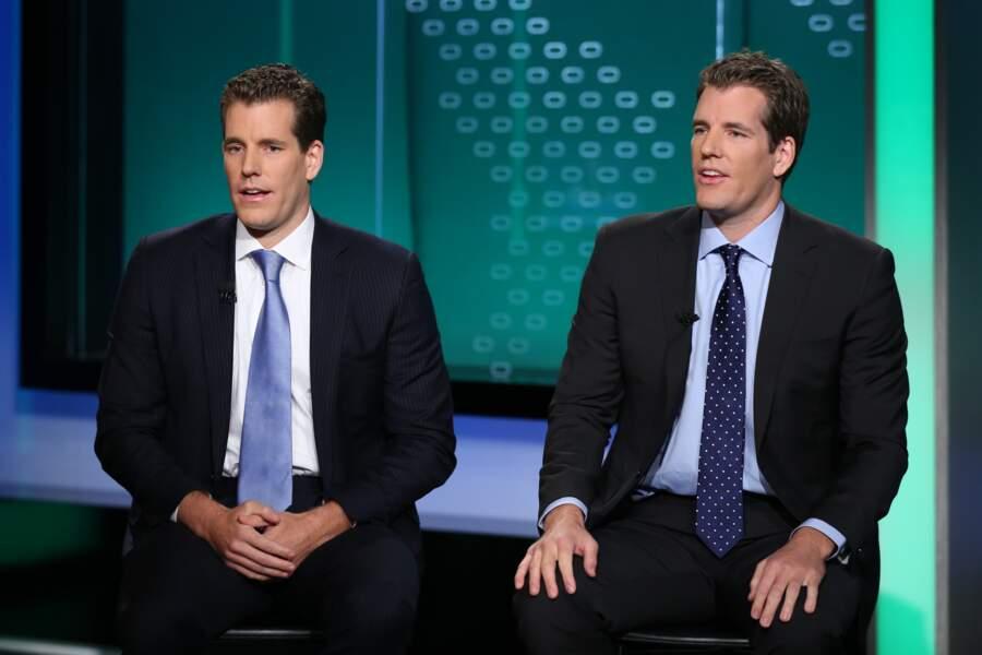 4 - Cameron et Tyler Winklevoss (900 millions à 1,1 milliard de dollars)