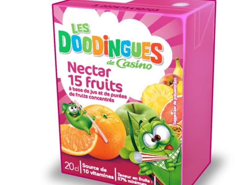 3 - LES DOODINGUES (CASINO) Nectar 15 fruits
