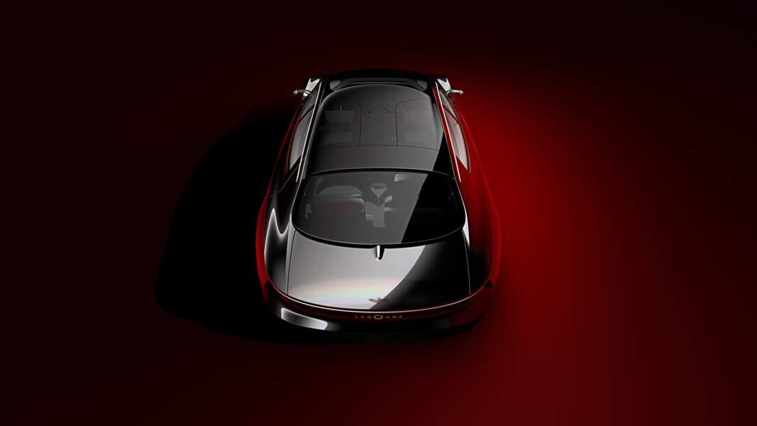 Aston Martin Lagonda Vision - Toit vitré panoramique/ Vue Arrière