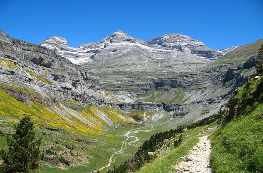 Le Mont Perdu dans les Pyrénées