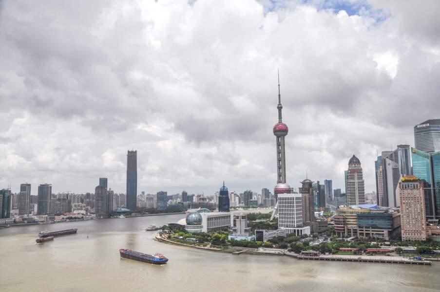 Risque d'un choc sur la croissance en Chine